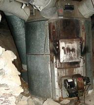 Vintage Mobile Home Oil Heater