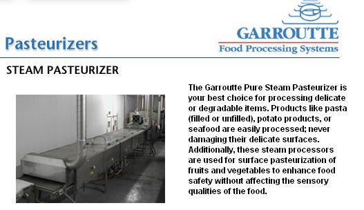 Pasteurizers_Steam_Garroutte